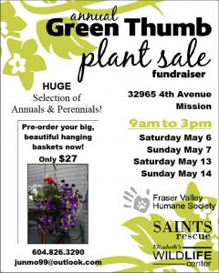 Plant Sale Poster 2017